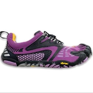 Vibram (fivefingers) Purple Black Shoes